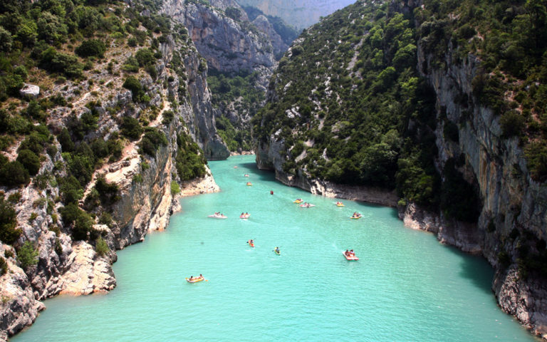Great tourist attractions to visit near Provence, France.